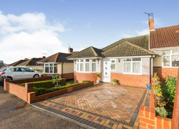 Thumbnail 3 bed semi-detached bungalow for sale in Bryanston Road, Southampton