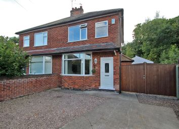 Thumbnail 2 bed semi-detached house for sale in Florence Crescent, Gedling, Nottingham