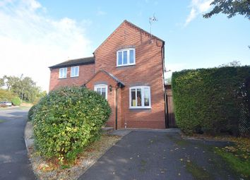 Thumbnail 2 bed semi-detached house to rent in The Dovecote, Breedon On The Hill, Derbyshire
