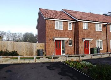 Thumbnail 2 bedroom end terrace house for sale in Carbrooke, Thetford, .