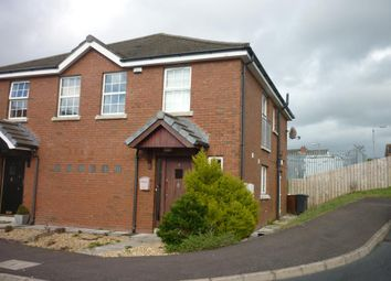 Thumbnail 2 bed semi-detached house to rent in Larksborough Close, Newtownards