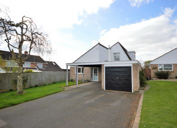 Thumbnail 4 bedroom detached house for sale in Brington Close, Wigston