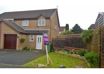 Thumbnail 3 bed semi-detached house for sale in Banc-Yr-Allt, Cefn Glas