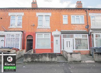 Thumbnail 2 bed terraced house for sale in Knowle Road, Sparkhill, Birmingham