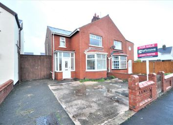 Thumbnail 3 bed semi-detached house for sale in Sherwood Avenue, Layton, Blackpool, Lancashire