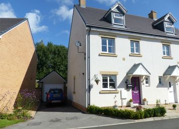 Thumbnail 4 bed semi-detached house for sale in Maes Y Cadno, Coity, Bridgend, Mid Glamorgan