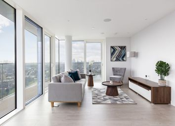 Thumbnail 3 bed flat for sale in Skylark Point, 48, Newnton Close, London