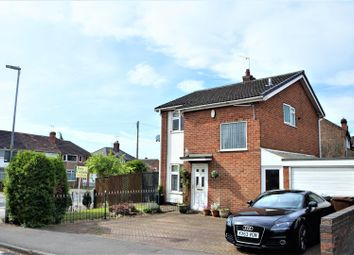 Thumbnail 3 bed detached house for sale in Falcon Road, Anstey, Leicester