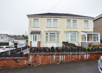 Thumbnail 3 bed semi-detached house for sale in Trallwn Road, Llansamlet, Swansea