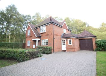 Thumbnail 4 bed detached house to rent in Kings Ride, Ascot