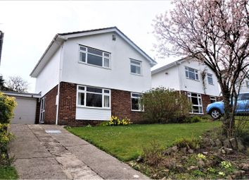 Thumbnail 4 bed detached house for sale in Llwyn Eithan, Caerphilly