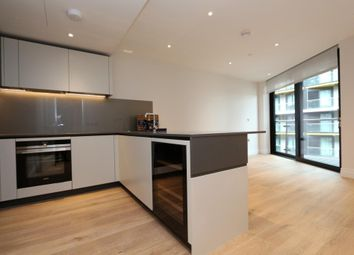 Thumbnail 1 bed flat to rent in Wandsworth Road, Nine Elms, London