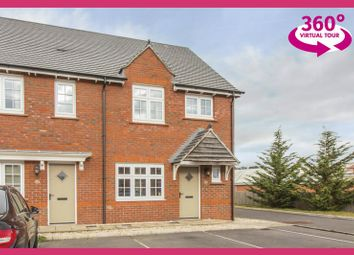 Thumbnail 3 bed end terrace house for sale in Windsor Castle Road, Newport
