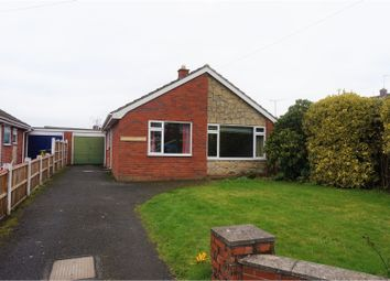 Thumbnail 2 bed detached bungalow for sale in Aston Road, Wem, Shrewsbury