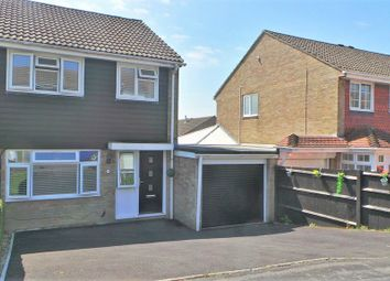 Weyhill Close, Portchester, Fareham, Hampshire PO16. 3 bed semi-detached house