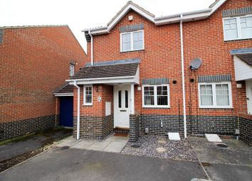 Thumbnail 2 bed semi-detached house for sale in Pope Close, Abbey Meads, Swindon