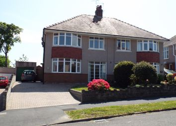 Thumbnail 3 bed semi-detached house for sale in Mayals Avenue, Mayals, Swansea