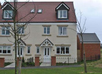 Thumbnail 4 bedroom terraced house to rent in Barnwell View, Herrington Burn, Houghton Le Spring