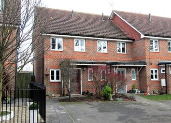 Thumbnail 2 bedroom end terrace house for sale in The Lindens, Mytchett