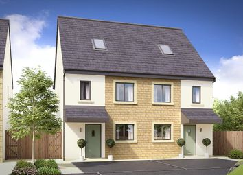 Thumbnail 4 bed semi-detached house for sale in Pilgrim Gardens, Market Street, Edenfield, Bury