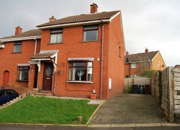 Thumbnail 3 bed end terrace house for sale in Hilden Court, Lisburn