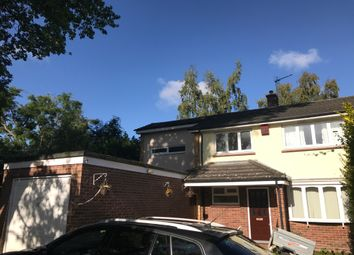 Thumbnail 4 bed detached house to rent in Commons Road, Wokingham