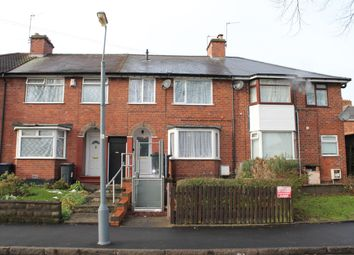 Thumbnail 3 bed terraced house for sale in Hollycroft Road, Handsworth, Birmingham