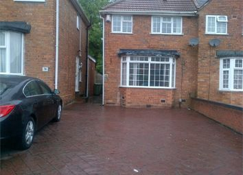 Thumbnail 3 bedroom semi-detached house to rent in Stanford Road, Blakenhall, Wolverhampton, West Midlands