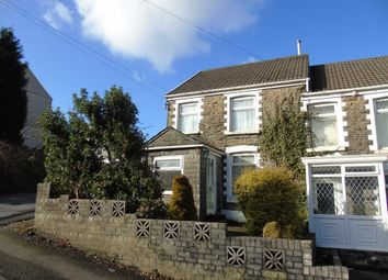 Thumbnail 2 bedroom semi-detached house for sale in Caemawr Road, Morriston, Swansea