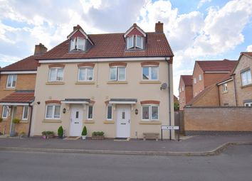 Thumbnail 4 bed end terrace house for sale in Piernik Close, Swindon, Wiltshire