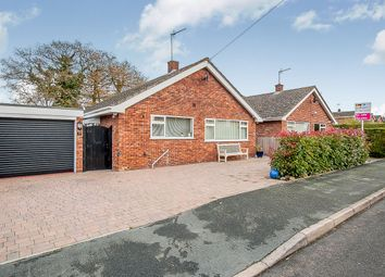 Thumbnail 3 bed detached bungalow for sale in Bentley Close, Upwood, Huntingdon