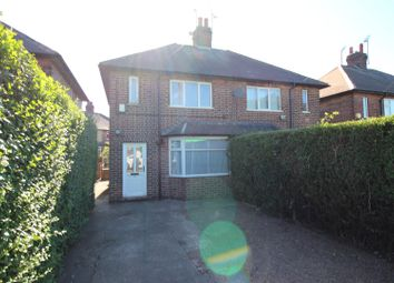 Thumbnail 2 bed semi-detached house for sale in Beacon Road, Beeston, Nottingham