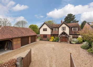 Thumbnail 5 bedroom detached house for sale in Pebmarsh Road, Twinstead, Sudbury