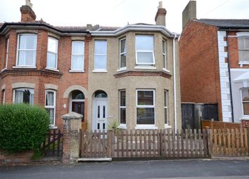 Thumbnail 2 bed semi-detached house for sale in St. Michaels Road, Aldershot, Hampshire
