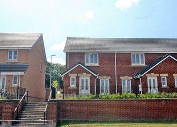 Thumbnail 2 bed end terrace house for sale in Ffordd Y Dolau, Llanharan, Pontyclun, Rhondda, Cynon, Taff.