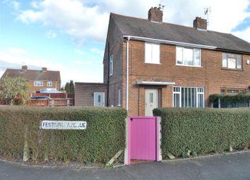 Festival Avenue, Breaston, Derby DE72. 3 bed semi-detached house for sale