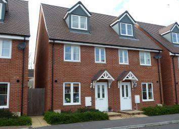 Thumbnail 3 bedroom semi-detached house for sale in Wagstaff Way, Salisbury