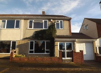 Thumbnail 3 bed semi-detached house for sale in Windsor Court, Wick, Bristol