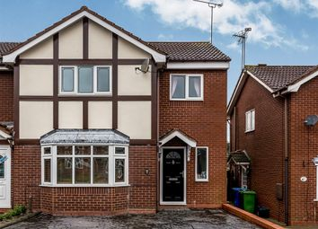 Thumbnail 4 bed end terrace house for sale in Redwing Drive, Huntington, Cannock
