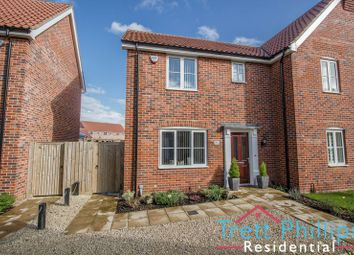 Thumbnail 3 bed semi-detached house for sale in Jeckells Road, Stalham, Norwich