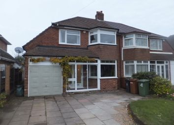 Thumbnail 3 bed semi-detached house for sale in Mayfield Road, Sutton Coldfield