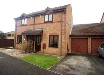 Thumbnail 2 bed semi-detached house to rent in Hucklow Court, Oakwood, Derby