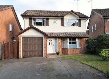 Thumbnail 4 bed detached house for sale in Burlington Court, Blackwater, Camberley
