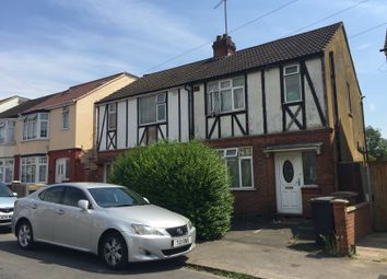 Thumbnail 2 bed end terrace house to rent in Chandos Road, Luton, Beds.