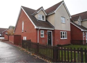 Thumbnail 4 bedroom detached house for sale in Needham Road, Combs Ford, Stowmarket
