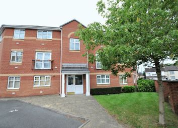 Thumbnail 2 bed flat for sale in Black Eagle Court, Burton Upon Trent, Staffordshire