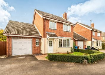Thumbnail 4 bed detached house for sale in Barcombe Close, Banbury