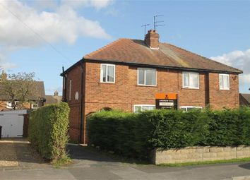 Thumbnail 3 bed semi-detached house for sale in Ash Road, Harrogate, North Yorkshire