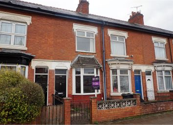 Thumbnail 2 bed terraced house for sale in Fosse Road North, Leicester