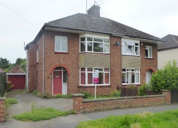 Thumbnail 4 bed semi-detached house for sale in Mount Drive, Wisbech, Cambridgeshire